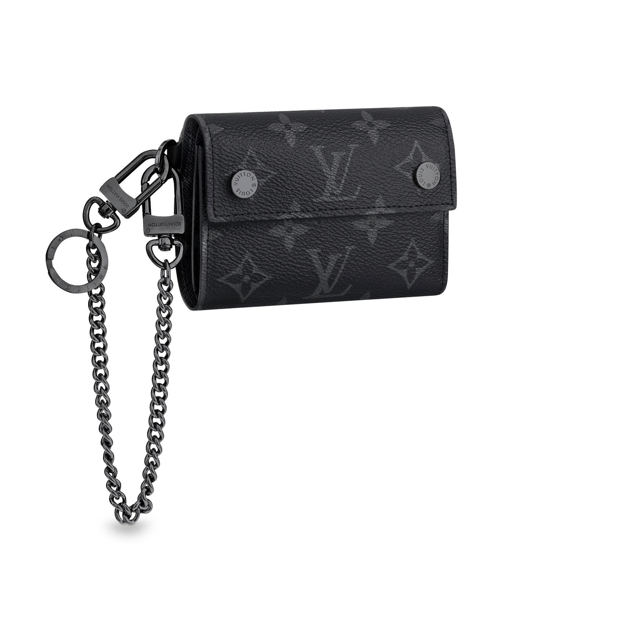 d6336b4e1e Rivets Chain Wallet via Louis Vuitton | Good Stuff | Wallet chain ...