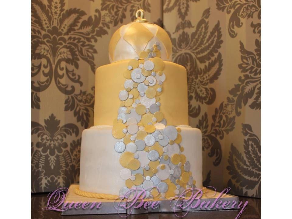 new years eve cake | Cake, Colorful cakes, Cake decorating