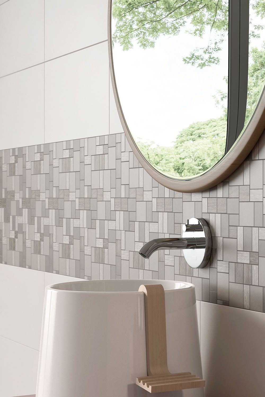 Steuler Mauerblume Light Grau Mosaik 30x30cm Y30123001 Bad Mosaik Mosaikfliesen Bad Fliesen Ideen