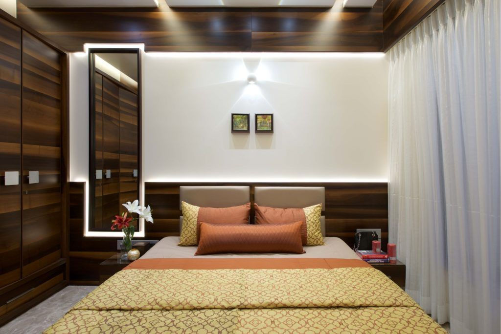 3 Bhk Apartment Interiors At Yari Road Amit Shastri Architects The Architects Diary Apartment Bedroom Decor Bedroom Furniture Design Modern Bedroom Interior