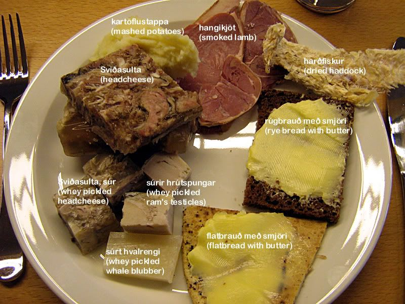 Scandinavian Festival Food