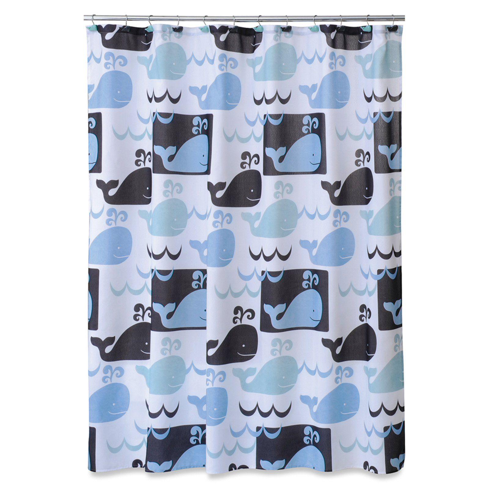Allure Whale Watch Shower Curtain Shower Curtains Walmart