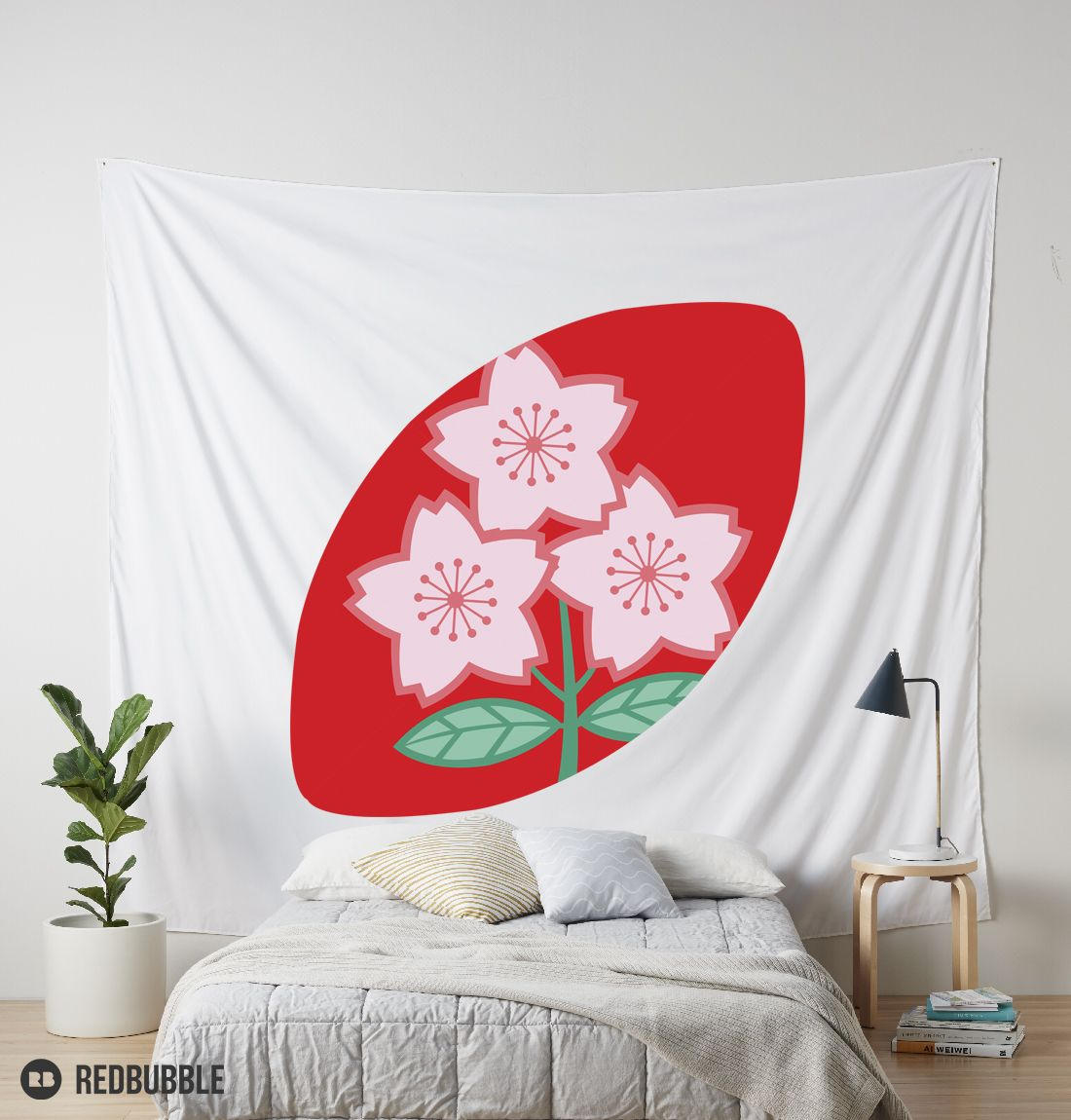 Rugby Japan Tapestry Tapestry Home Decor Japan
