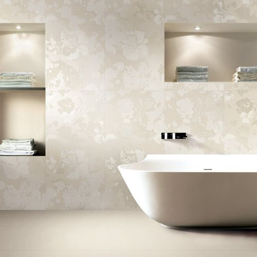 Large 120x60cm Cream Plain Porcelain Tiles Porcel Thin Cream Modern Bathrooms Patterned Floor Tiles Stylish Bathroom