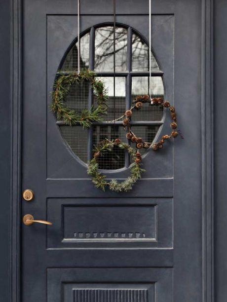 DIY: Pynt til din juledør | Femina