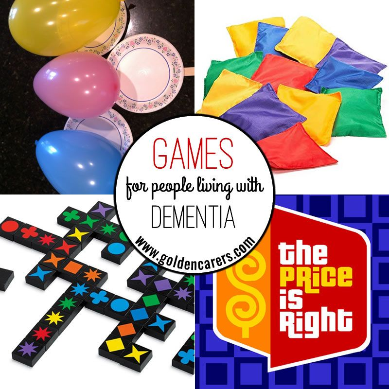 Games for People Living with Dementia Activities for