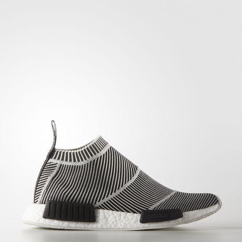 Schicke Adidas Originals NMD City Socke Schwarz Damen