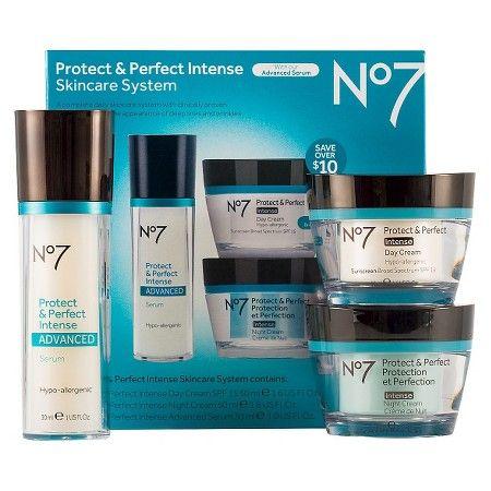No7 Protect Perfect Intense Advanced Skincare System Skin Care System No7 Anti Aging Skin Care