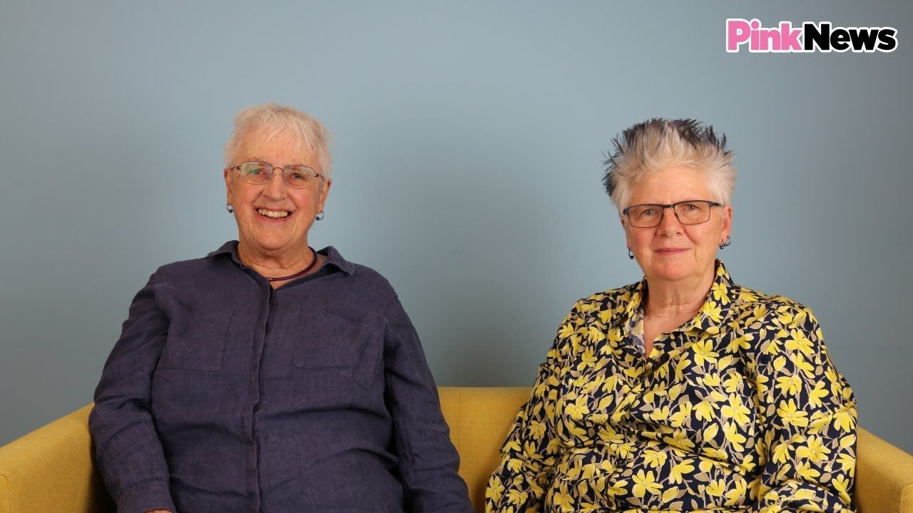 Older lesbian couple on being happy for 30 years | Lesbian