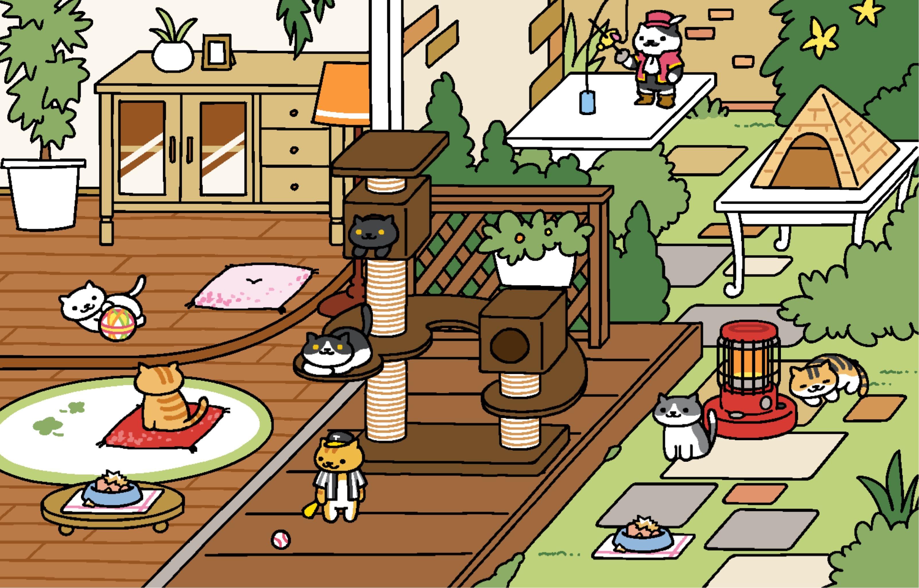 Joe Dimeowgio & Don Gato Neko atsume, Neko atsume kitty