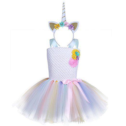 Werbung Einhorn Prinzessin Kostum Fur Kinder Komplettes Einhorn