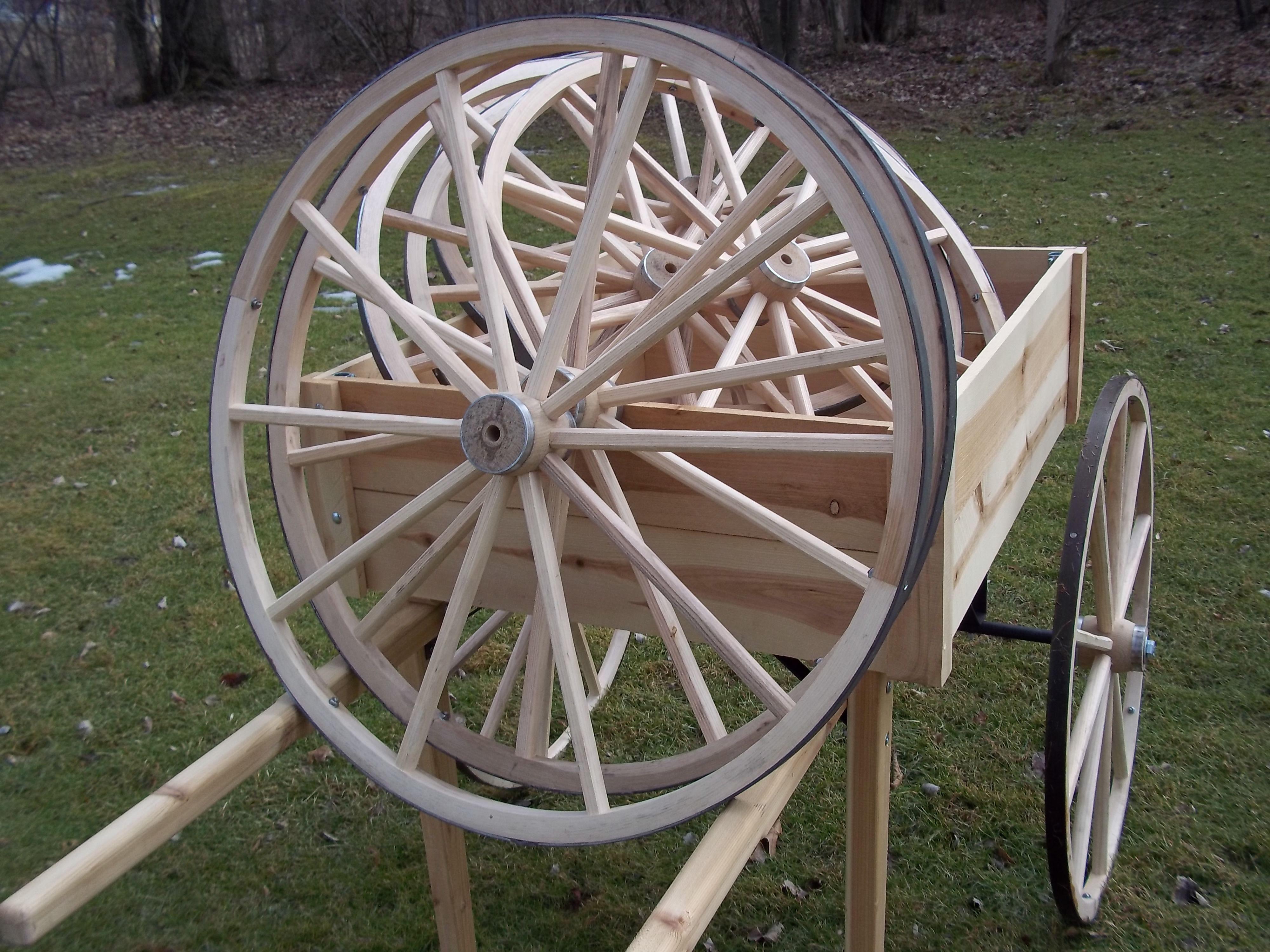 Amish Wagon Wheels By Www Wmconstr