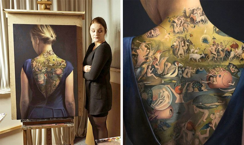 An Artist Who Turns Hieronymus Bosch S Garden Of Earthly Delights