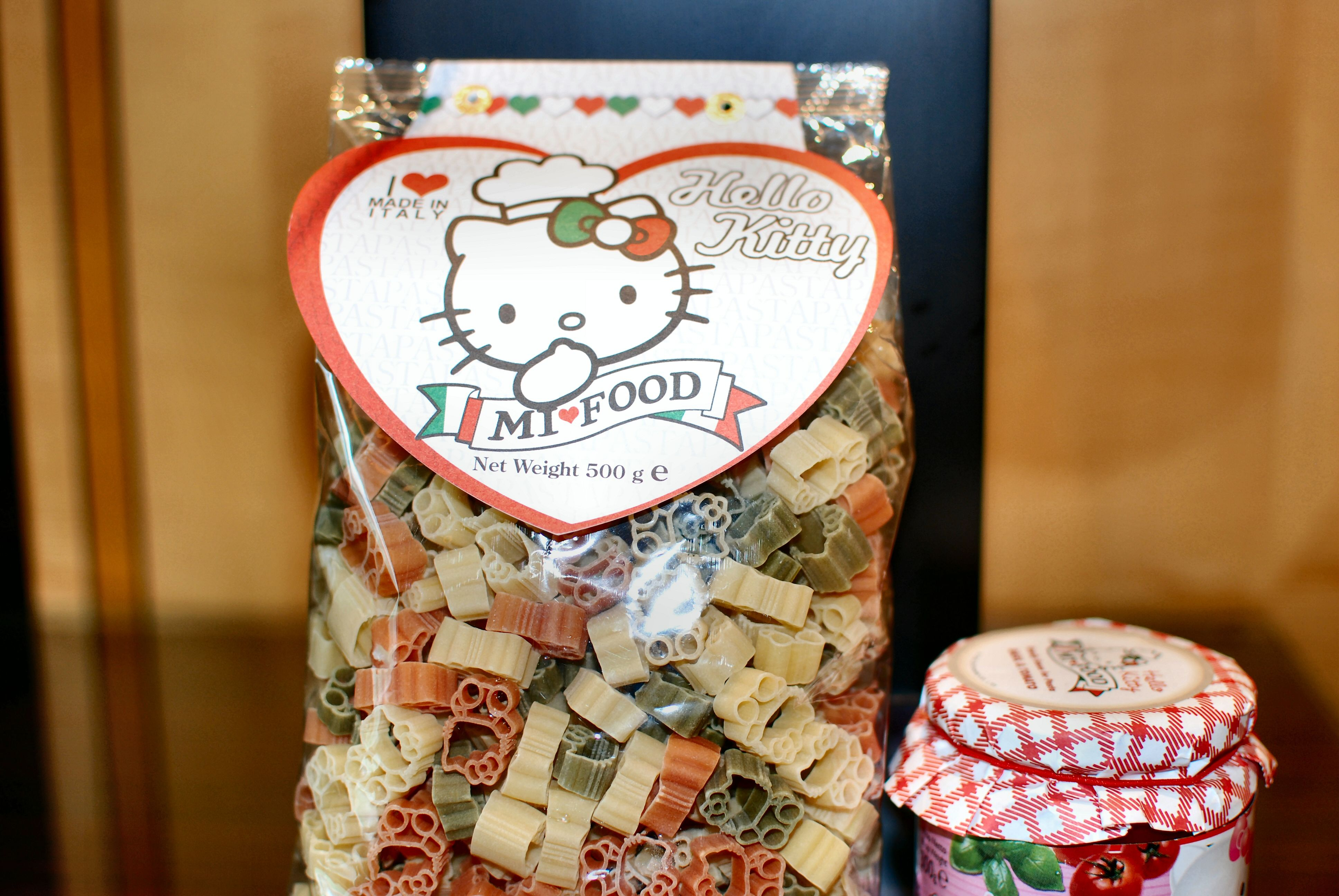 Hello Kitty Pasta.. justrdered some off of Amazon! SOOO