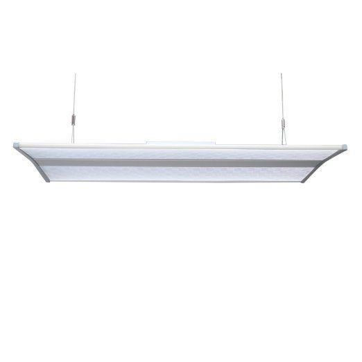Yorbay® LED Pendelleuchte Panel Esszimmer Beleuchtung Hängeleuchte Büro  Arbeitszimmer Deckenbeleuchtung Mit Befestigungsmaterial (300x800mm 40W