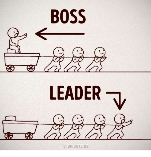 Memes And Boss Boss Leader V Brighiside Inspirerende Citaten Woorden Leuke Quotes
