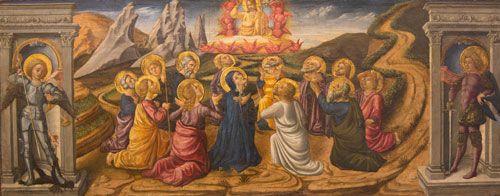 Helatorstai. Niccolo da Foligno, 1400- ja 1500-lukujen taite. Musèe Calvet, Avignone, Ranska. Valokuva Marco Peretto.
