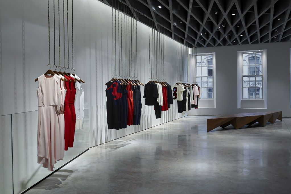 Victoria Beckham Opens First Store on London\u0027s Dover Street Street
