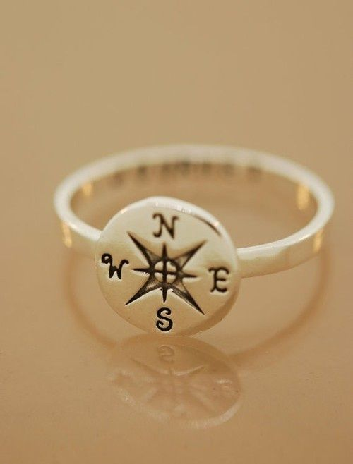 East Coast Beach House Compass Ring My Style Pinterest East