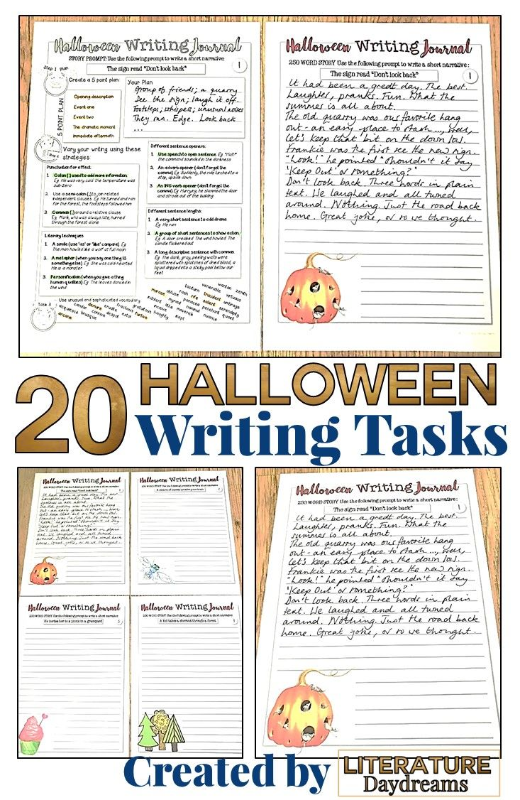 These Halloween Writing Prompts Are A Great Way To Involve Your Middle And High Scho Halloween Writing Prompts High School Writing Activities Halloween Writing [ 1126 x 733 Pixel ]