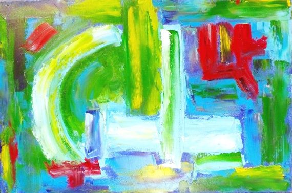 Hey, I found this really awesome Etsy listing at https://www.etsy.com/listing/256110337/original-oil-painting-plane-abstract