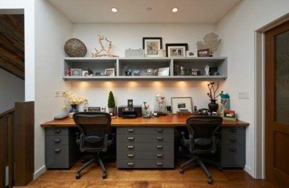 Aménagement bureau à domicile pratique - 20 exemples | Bureaus ...