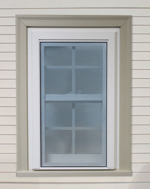 We Need New Windows Too Want Them In Black Also Window Trim Interior Window Trim Brick Molding