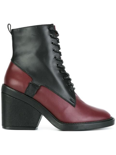 ff51f50778e Robert Clergerie panelled lace-up boots in Stefania Mode