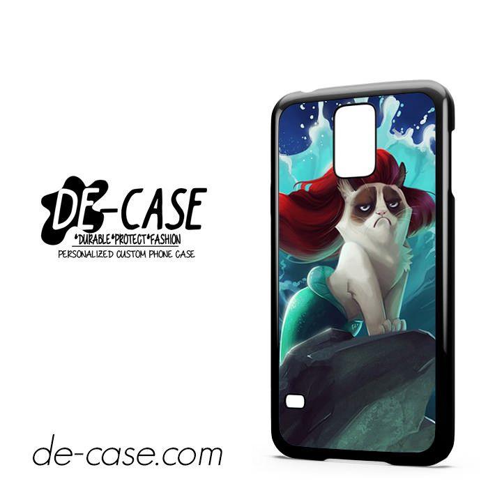 Grumpy Cat The Little Mermaid For Samsung Galaxy S5 Case Phone Case Gift Present YO