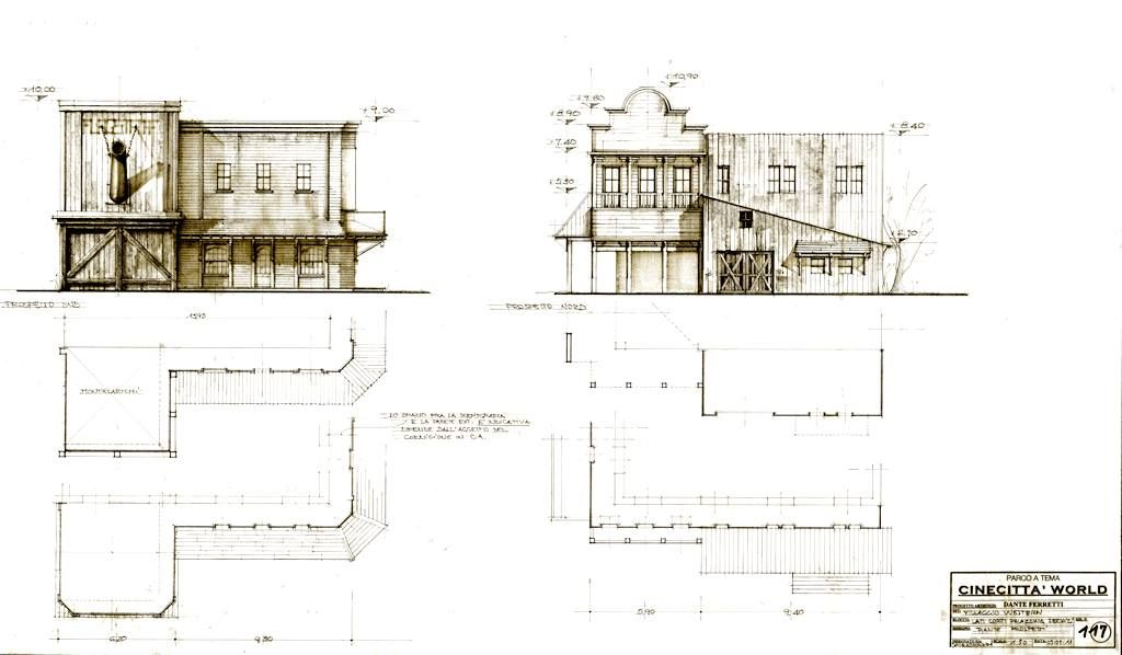 Cinecitta Parchi S P A Artwork By Dante Ferretti Cinecitta World Http Www Cinecittaworld Com Scenic Design Set Design Film Set