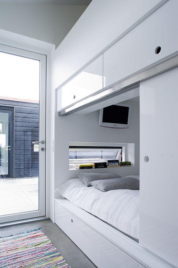 Schlafzimmer 2018 35 erstaunliche kleine Raum-Alkoven-Betten ...