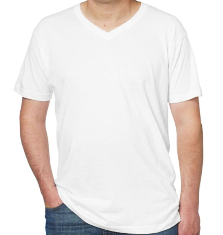 Kirkland black t shirts xl - Kirkland Mens Pima Cotton V Neck T Shirt Short Sleeve Tee Tagless Premium White