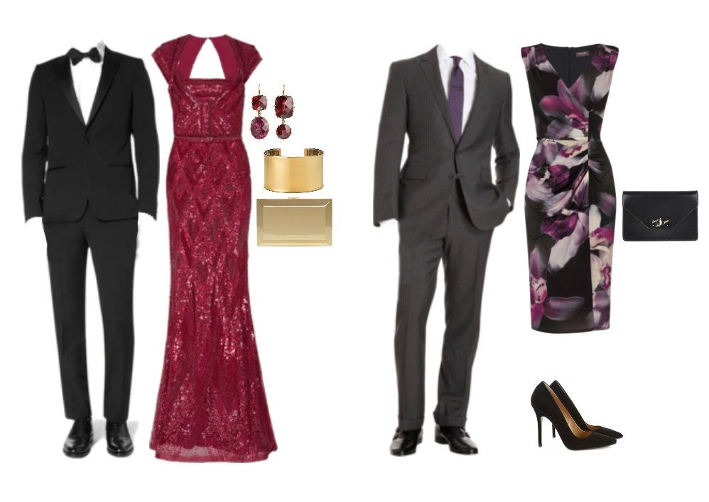 29d84e21df199 What Does Black Tie Optional Mean? | Holiday Party Outfits | Black ...