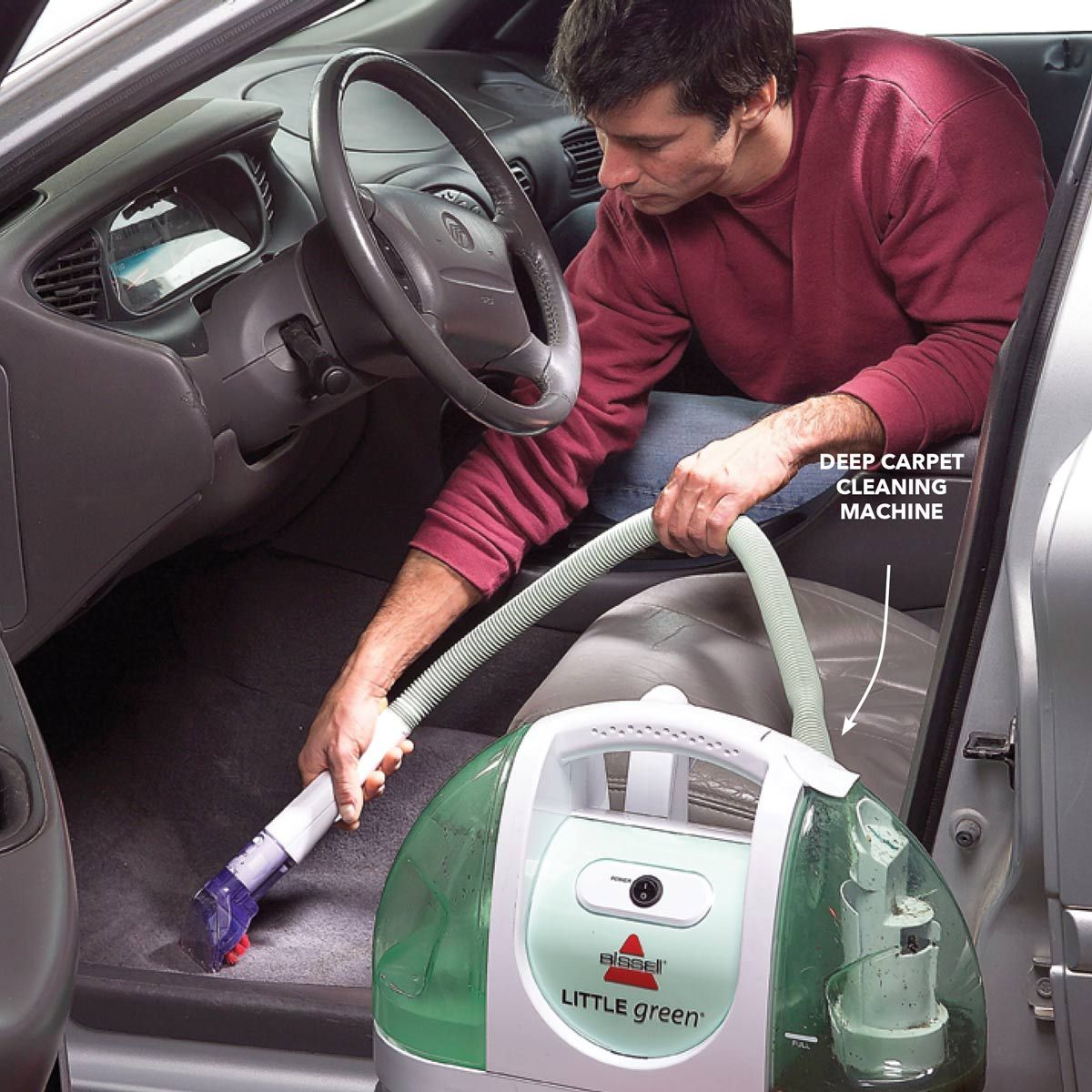 How to Clean Your Car Carpets and Upholstery