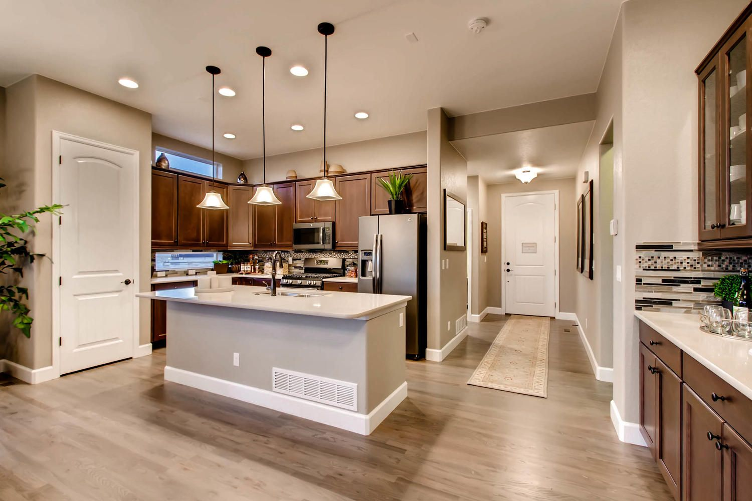 Kitchen Celebration Floor Plan Built By Classic Homes Model Home Is Located In Banning Lewis Ranch Classic House Floor Plans Ranch Style
