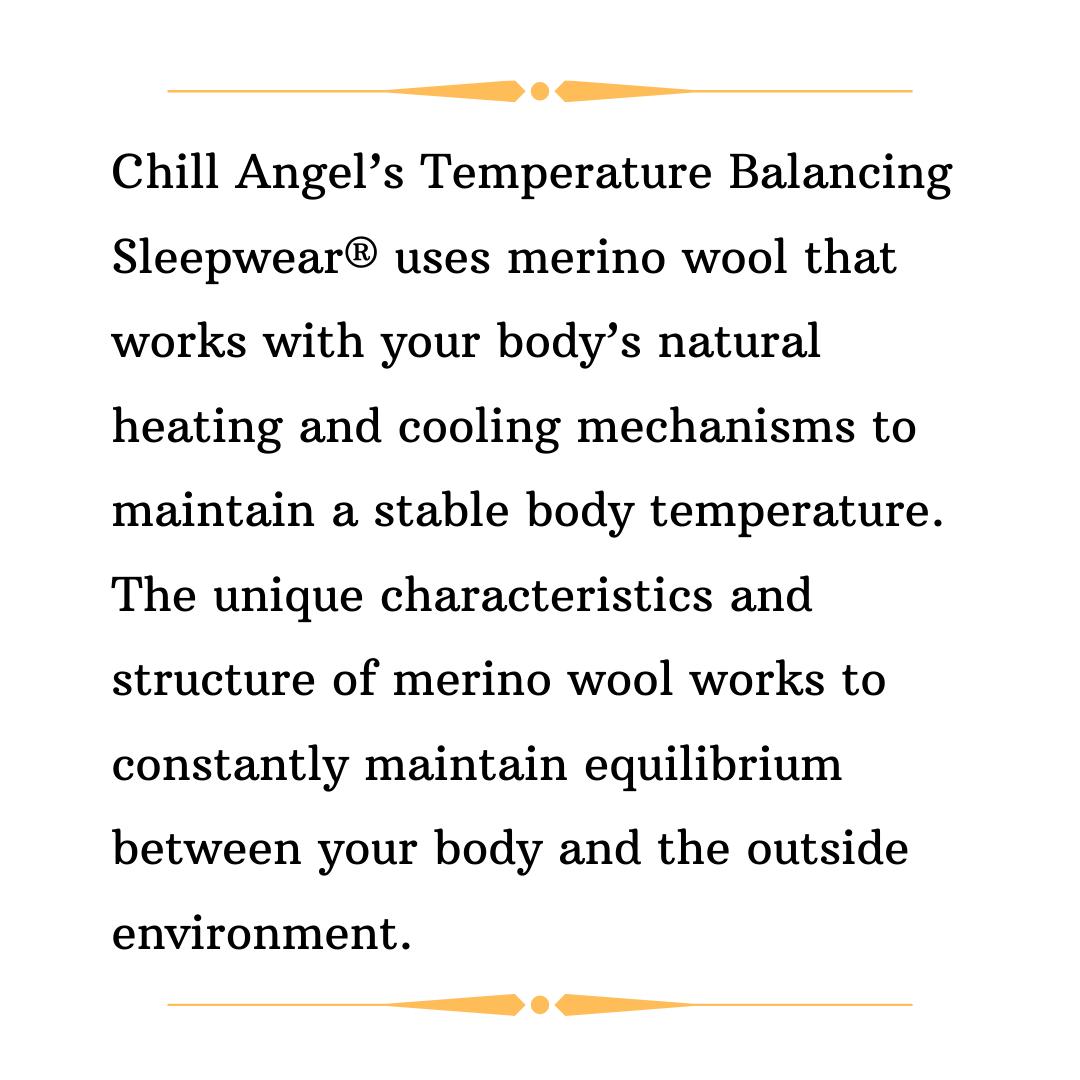 Did You Know Chillangel Sleepwear Merinowool Travel