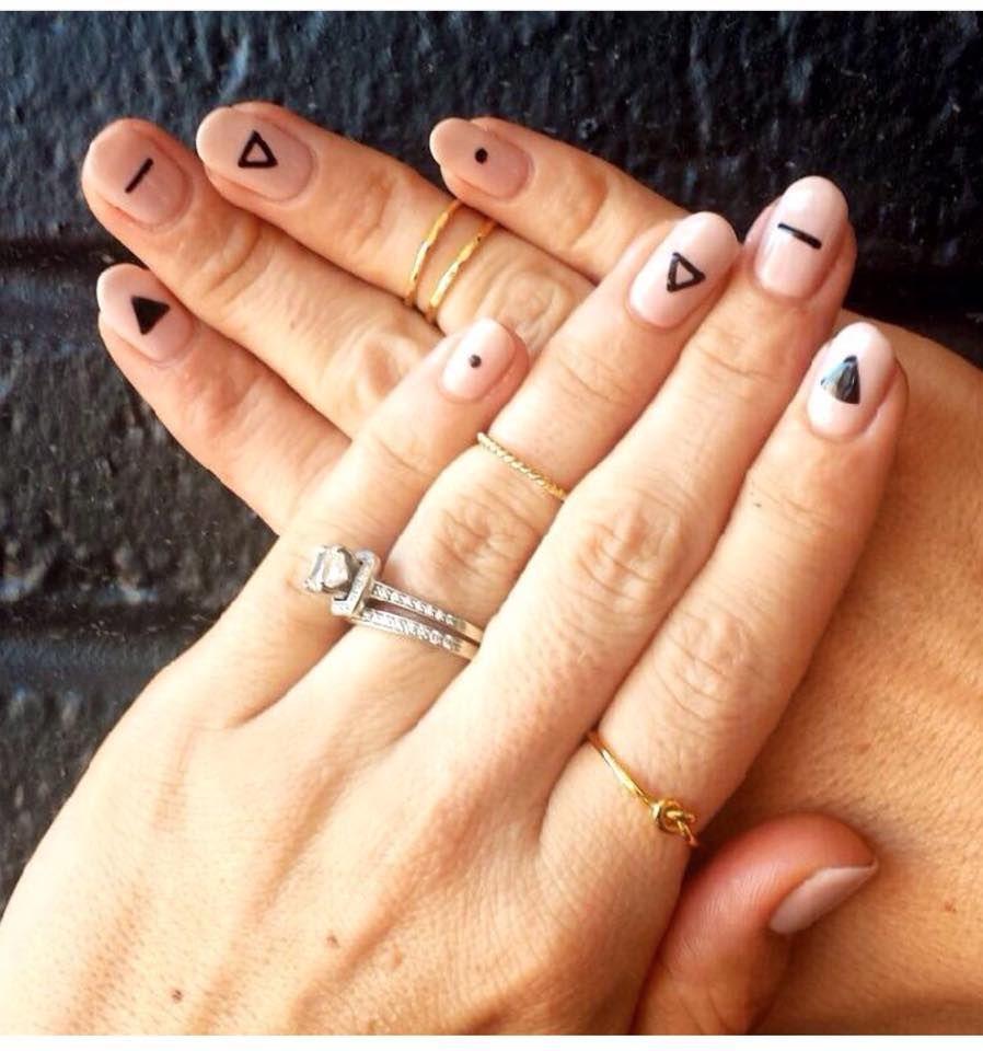 Simplistic Nails Credit Jessica Whitaker Simple Nails Minimalist Nail Art Minimalist Nails