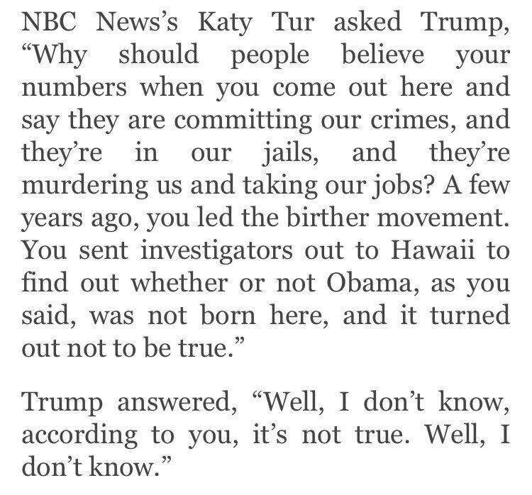 Media Tweets by Katy Tur (@KatyTurNBC) Twitter TRUMPing - affidavit statement of facts