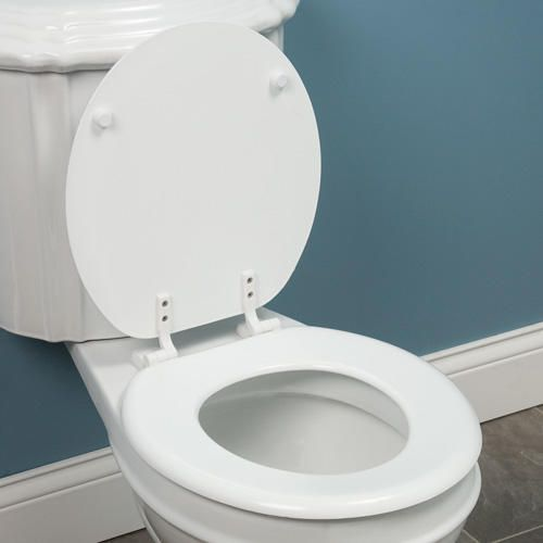 Best Wooden Toilet Seat Silverdale Traditional Luxury Dark Oak - 40cm round toilet seat