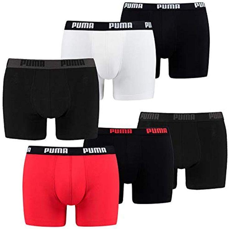 4 er Pack Puma Short Boxer Boxershorts Men Pant Unterwäsche kurz