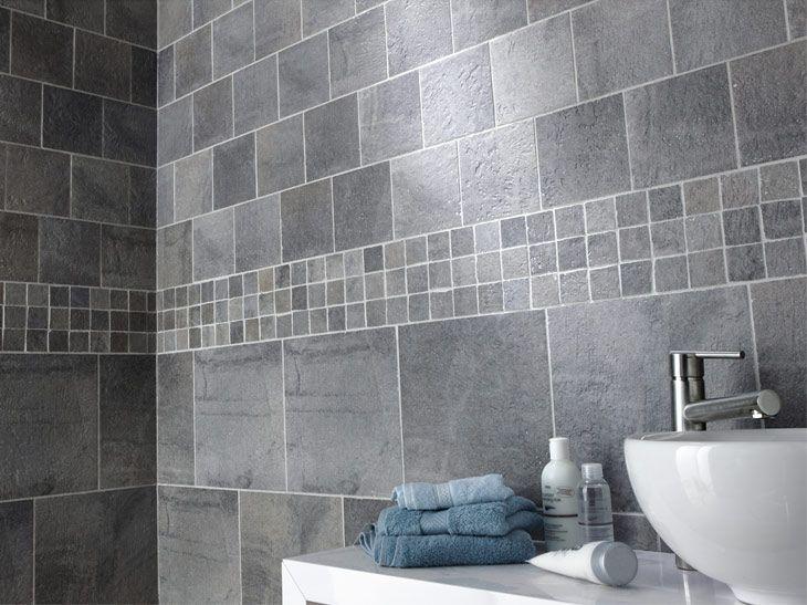 carrelage décalé Salle de bains Pinterest - photo faience salle de bain