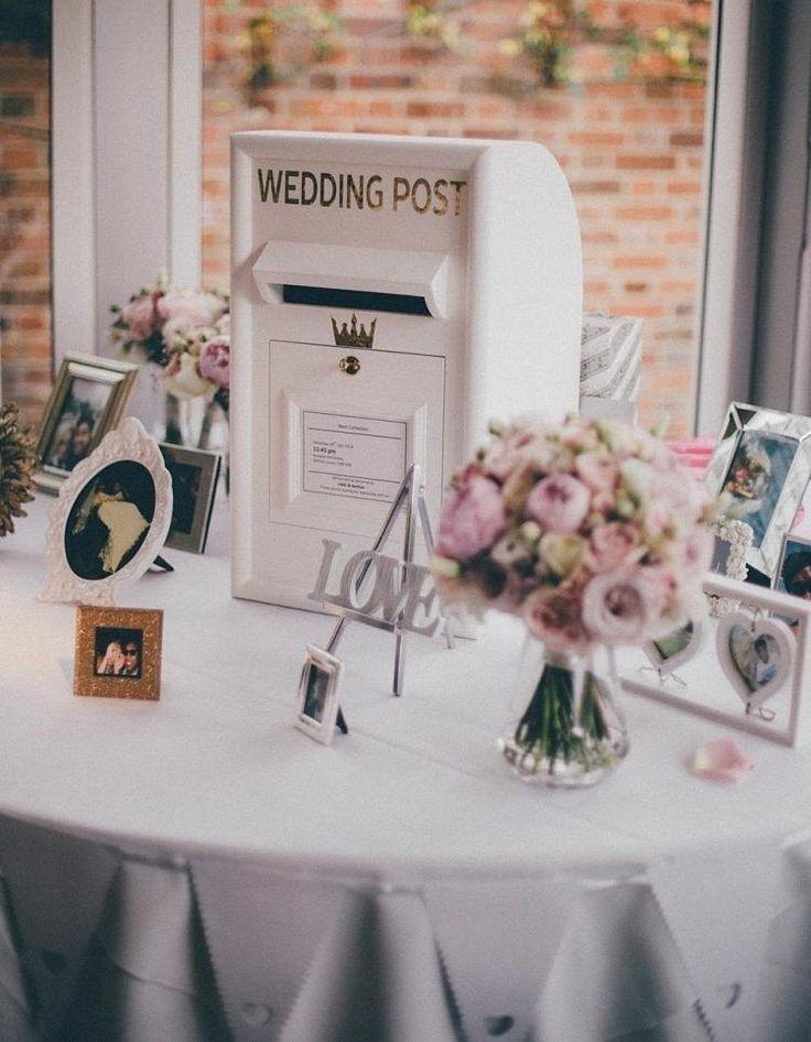 Manualidades de regalo de bricolaje – ideas de regalos-boda-hágalo usted mismo-buzón-wess-flores-imágenes-lo …