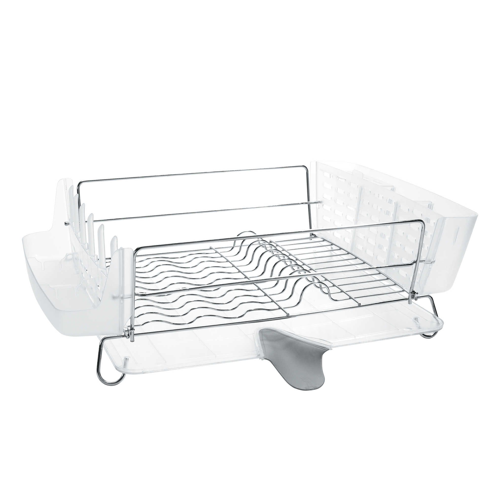 Oxo Good Grips Folding Stainless Steel Dish Rack Delectable Oxo Good Grips® Folding Stainless Steel Dish Rack  Dish Racks Design Inspiration