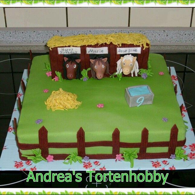 Horse cake  Pferde Torte  snacks  Pferd torte Torten
