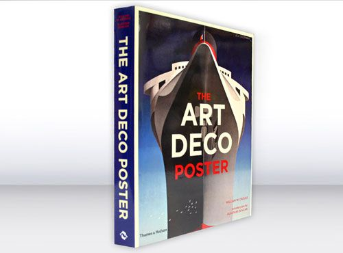 The Art Deco Poster book by William W. Crouse and Alastair Duncan. Published by Thames & Hudson.