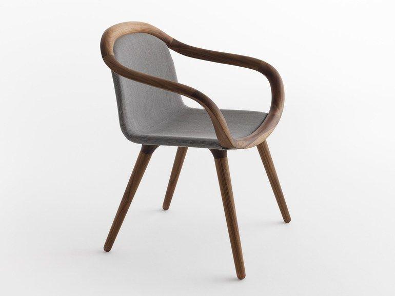 Petit Fauteuil En Bois Massif GINEVRA By HORMIT Design Studio - Petit fauteuil en bois