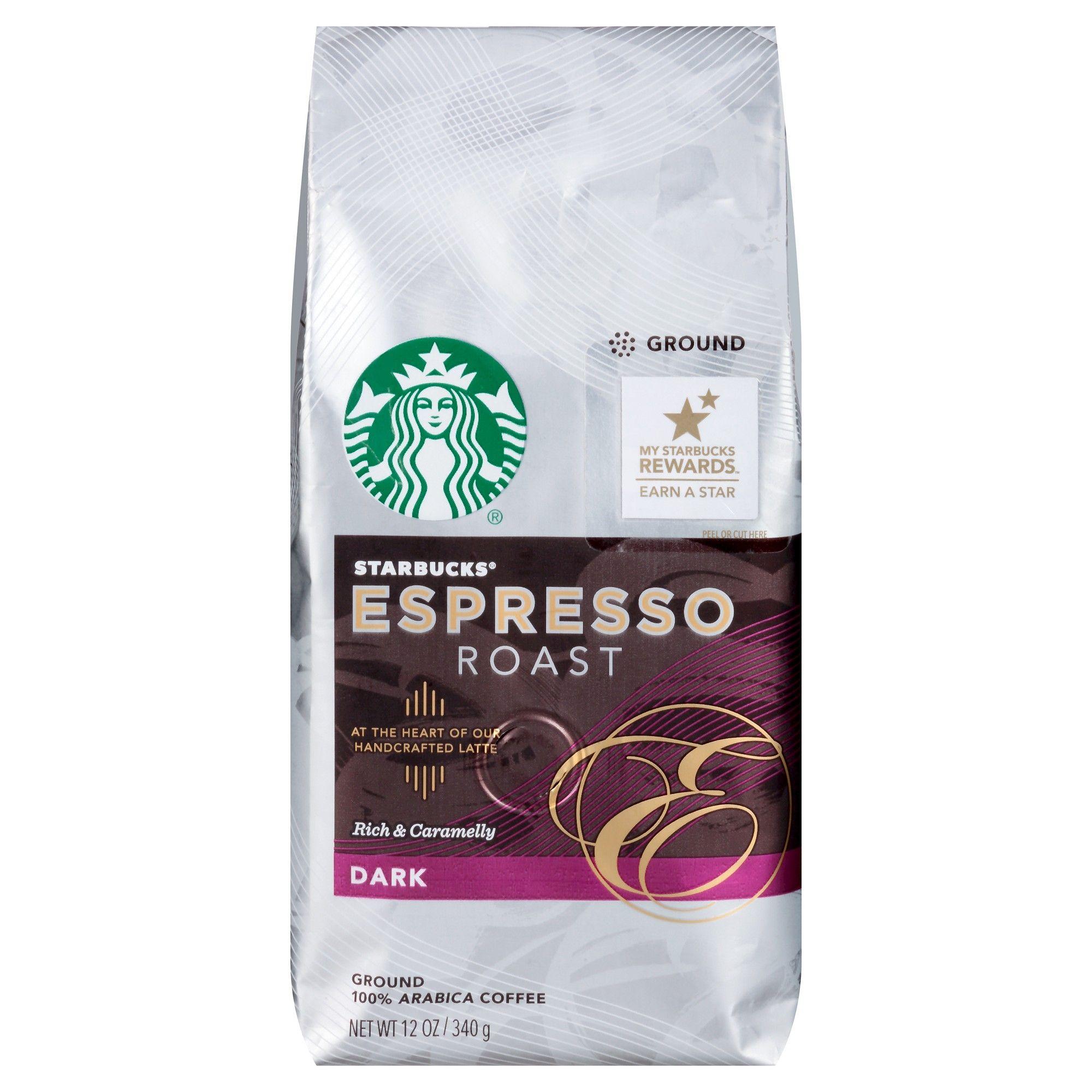 Starbucks Espresso Roast Dark Roast Ground Coffee 12oz