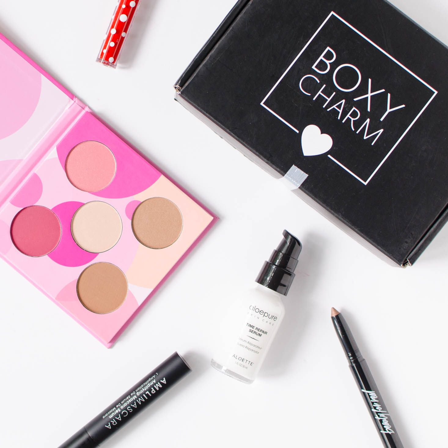 boxycharm subscription box review august 2016 pinterest