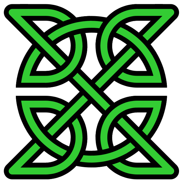 How To Tie A Celtic Triangle Knot Easily Celtic Knots Crafty And