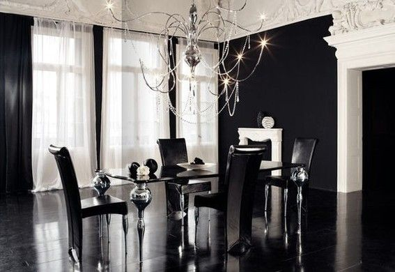 Eye Candy Modern Gothic Interiors and How to Get Them